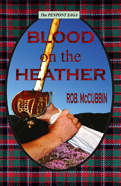 Blood on the Heather temporary cover
